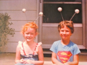 1983 ~ Alien children on Mary's front porch